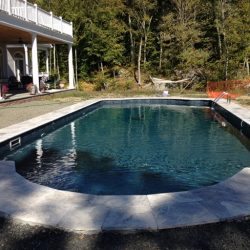 A-1 Pools & Spas Completed pool