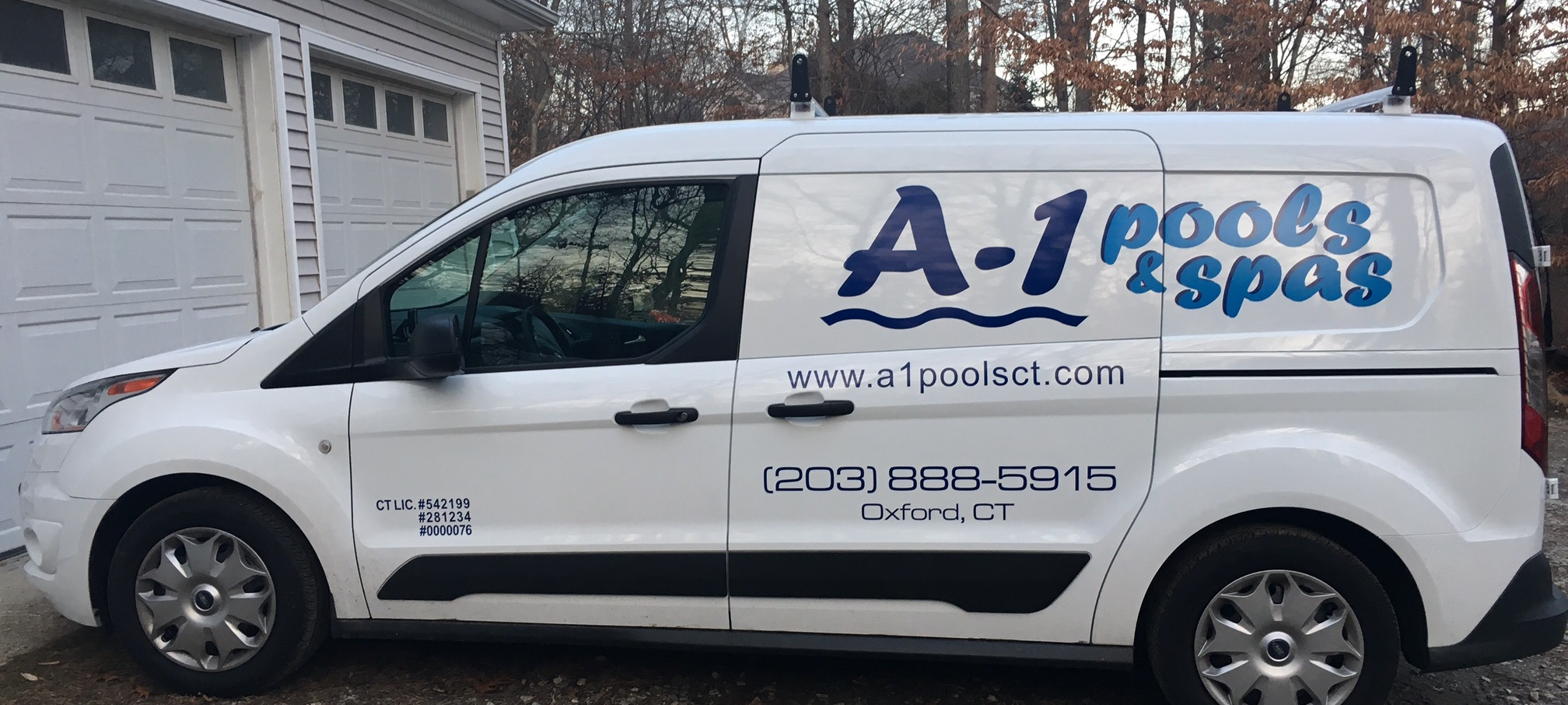 A- 1 Pools & Spas Van