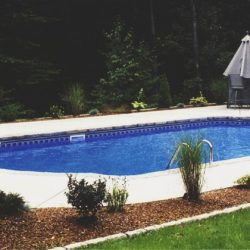completed pool